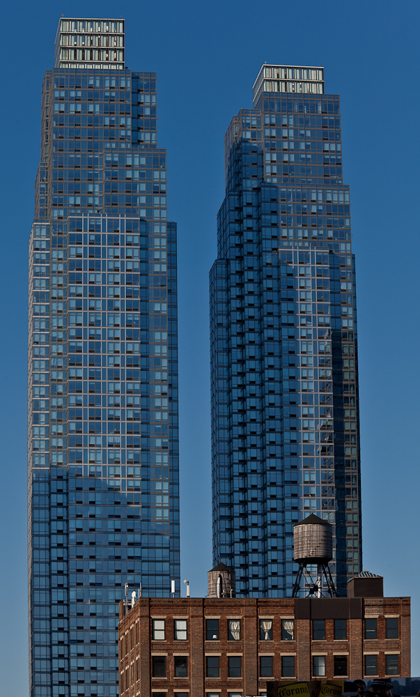West Side Skyscrapers & Water Towers