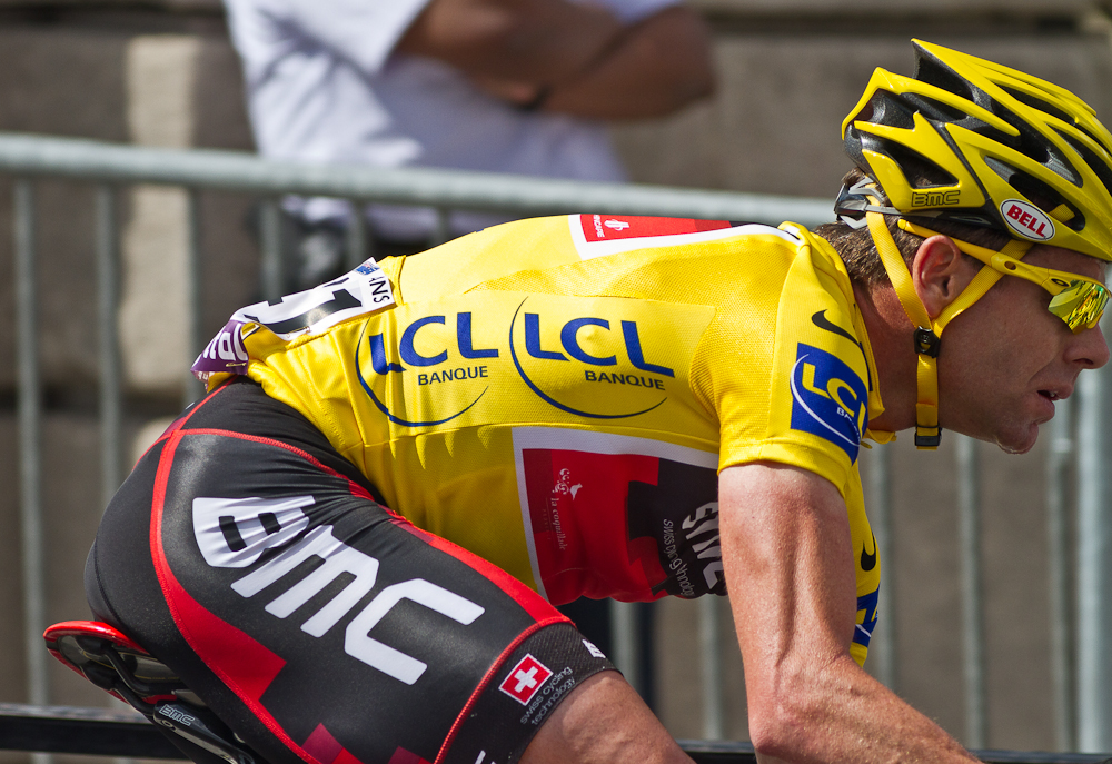 Paris, France: Tour de France 2011 - Cadel Evans